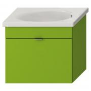 Шкафчик Tigo 65 с раковиной, зеленый