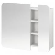 Шкафчик зеркальный Pure, белый