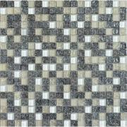 Мозаїка платина колота-білий-охра мікс 2100