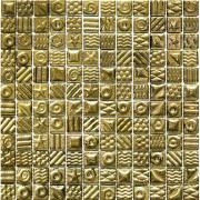 Мозаїка Моно золото з малюнком 2 252