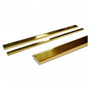 Фриз Chrome нержавіюча сталь золото