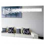 Зеркало Cosma 100x80 LED с линзой