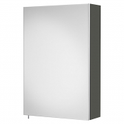 Шкафчик зеркальный Debba 40 серый антрацит