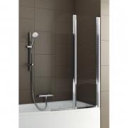 Шторка на ванну Modern 2, хром