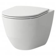 Чаша унитаза Pro A Rimless Comfort с сиденьем Slim