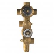Встраиваемый механизм термостата Aquamax на 3 положения