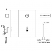Вбудована система зливу i-Flush для унітаза