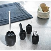 Стакан для зубних щіток Shiny чорний
