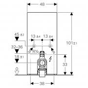 Інсталяційна система Monolith Plus для підлогового унітаза