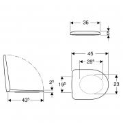 Інсталяція Duofix 3-in-1 458.126.00.1 + чаша унітаза Selnova Rimfree 501.545.01.1