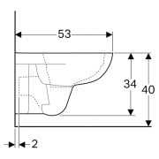 Інсталяція Duofix 3-in-1 458.126.00.1 + чаша унітаза Selnova Rimfree 500.265.01.1