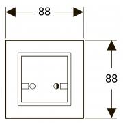 Кнопка HyTronic для дистанційного змиву