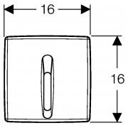 Кнопка для пісуара Basic