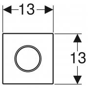 Кнопка для пісуара тип 10