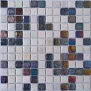 Мозаика White Grey Matt