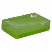Мыльница Colours зеленая