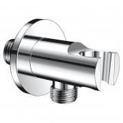 Підключення для душового шланга кутовий універсальне