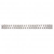 Душевой канал с полированной решеткой Медиум 100