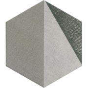 Грес Hextangram Fabric Grey
