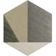 Грес Hextangram Fabric Taupe