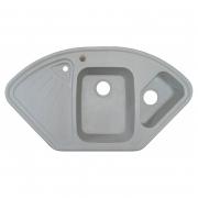 Кухонна мийка Trapezio 106 врізна, old stone