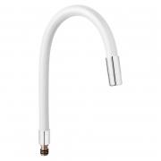 Излив Elastico для кухонных смесителей, белый