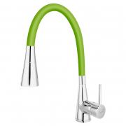 Змішувач Zumba II зелений/хром