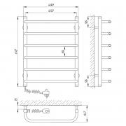 Полотенцесушитель Стандарт П6 45x60