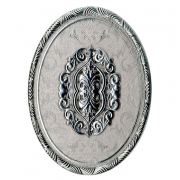 Декор-вставка Poem Medallion Plata Perla