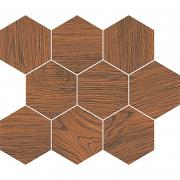 Декор Finwood Mosaic Ochra Hexagon