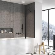 Штора для ванни Nes Black PND II 100 R