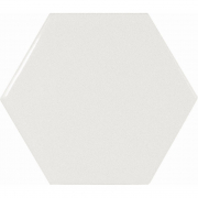 Кафель Scale Hexagon White 21911