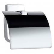 Держатель для бумаги Kubix Prime с крышкой хром