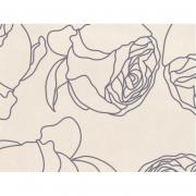 Кафель Isolda Декор 1 светло-бежевый