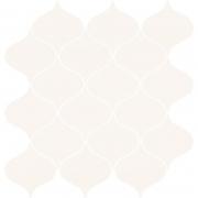 Декор Ocean Romance White Mosaic Satin