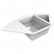 Кухонна мийка Europe 110 врізна матова біла