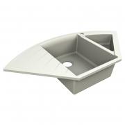 Кухонна мийка Europe 110 врізна матова жасмин