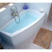 Акриловая ванна Lorena 150x90 левая с ножками