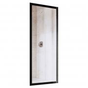 Душова стінка APSS 3-80 Transparent+чорний