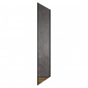 Душова стінка BLSPS-80 Transparent+чорний