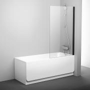 Шторка для ванны PVS 1-80 черный