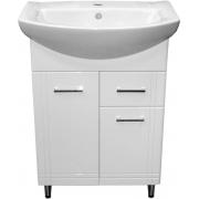 Шкафчик Aqua 60 под раковину Libra 60 (с ящиком), белая