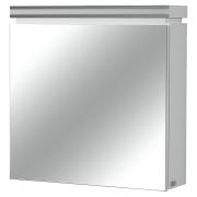 Шкафчик зеркальный Olivia, белый