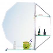 Зеркало ZHJ-2 без полочки, белое