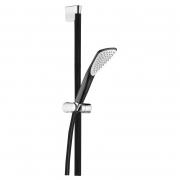 Душевой комплект Fizz 1S черный матовый/хром