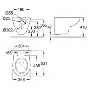 Інсталяційний комплект Bau 39427CB0