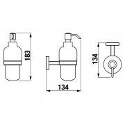 Дозатор Mio для жидкого мыла