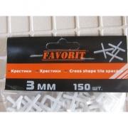 Крестики для кафеля, 3 мм (150 шт)
