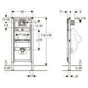 Инсталляционный модуль Duofix