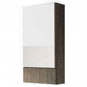 Шкафчик зеркальный Nova Pro 41,8 серый ясень